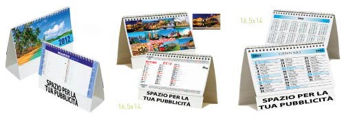 calendari personalizzati da
