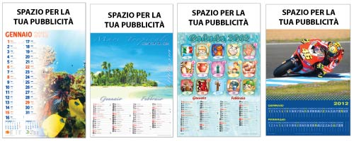 stampa calendari illustrati