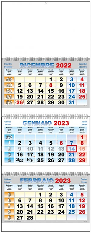 Calendari personalizzati 2021 o neutri, da regalare come gadget